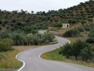 weg rondreis andalusië