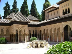 Alhambra in fly drive andalusien