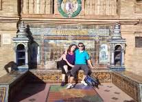 Sevilla tijdens rondreizen Andalusië