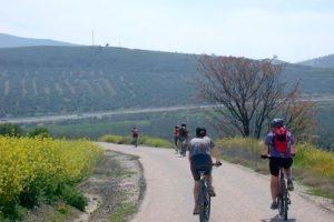 fietsen en wandelen tijdens fly drive andalusië