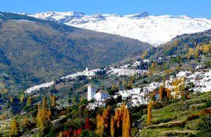 Alpujarras tijdens rondreis Andalusie