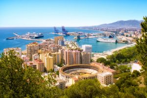 Málaga tijdens fly drive andalusie 21 dagen