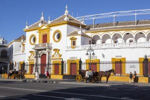 La Maestranza stieren Sevilla