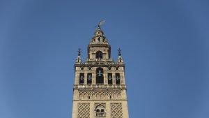 Giralda tijdens rondreis Andalusie